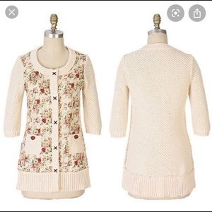 Anthropologie H W R knitted cardigan 🍂